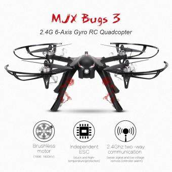 Harga Profession Drones MJX B3 Bugs 3 RC Quadcopter Brushless 2.4Ghz 4CH 6-Axis Gyro with gimbal &camera holder RC Drone Super Big guy