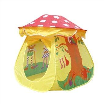 Harga Portable Tent Toy Children Boys Girls Mushroom House Tent