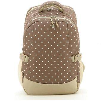 Harga Multi function Baby Diaper Bag Mama Organizer Bag backpack (Khaki)
