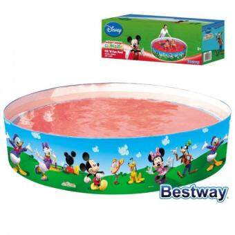 Harga BESTWAY MICKEY MOUSE CLUBHOUSE 183 X 38cm FUN PADDLING SWIMMING FAMILY KIDS POOL