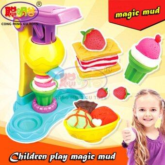 Harga CongMingGu 5 Colors Intelligent Plasticine Clay With Tool Kit Space Mud Children Educational Toys Kids Magic Sand Gum Playdough