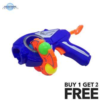 Harga MAGIX Super FUN Gun Shooter Outdoor Toys For Kids with PROMO BUY 1 FREE 2 ITEM!!
