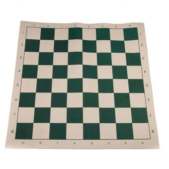 Harga Andux Chess Board Tournament Chess Set-Standard Vinyl Roll-up Forest XQQP-01 Green