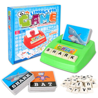 Harga Matching Letter Game Alphabet Letters Learning Children Educational Toys English Learning Machine