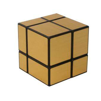 Harga 360DSC Shengshou Mirror 2x2x2 Speed Cube Magic Cube - Black +Gold