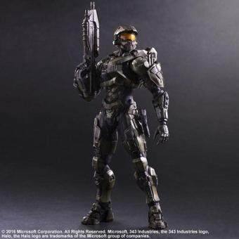 Harga Play Arts Halo 5:Guardians Master Chief Action Figures Garage Kits