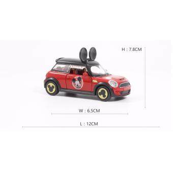 Harga Mickey Mouse Themed Mini Cooper Diecast Car Model