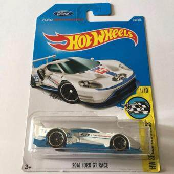 Harga Hot Wheels 2016 Ford Gt Race White