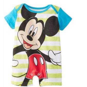 Harga Children's clothing Disney Mickey cartoon printed jumpsuit