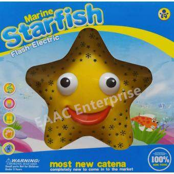 Harga Star Fish Bump and Go Fun Toys with Music and Light