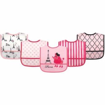 Harga LUVABLE FRIENDS PEVA BIBS 5PCS - 02345