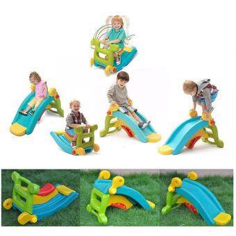 Harga rocker and slide 2in1 mini playground kids slide rocker 2in1 playground