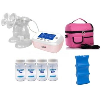 Harga Lacte - Duet Elite Electric Breastpump Package