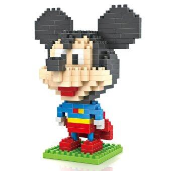 Harga Loz 9419 Mickey Mouse Superman 240pcs
