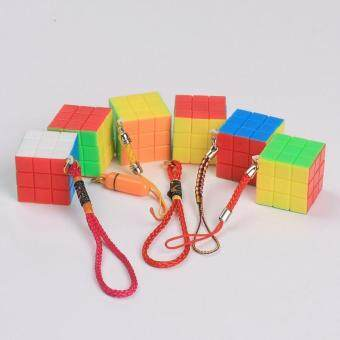 Harga Z-cube 3x3 Color Rubik's Cube 2.5cm Key Magic Cube