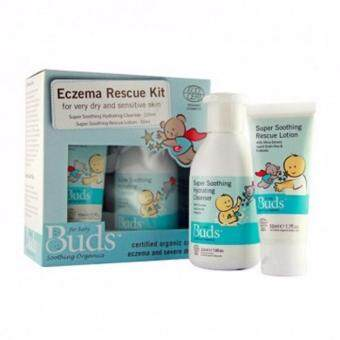 Harga Buds: Soothing Organics Eczema Rescue Kit Set
