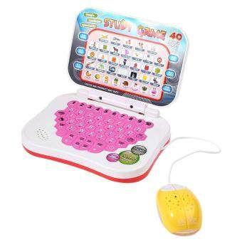 Harga Toys Games Musical Toys Kids Mini E-School Pc Learning Machine Computer Educational Game Toy With Mouse(Colormix)