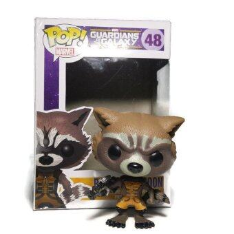 Harga FUNKO POP Guardians Of The Galaxy Rocket Raccoon Collectible Action Figure