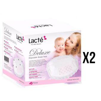 Harga Lacte Deluxe Disposable Breast Pad 36pcs