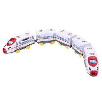 Harga Children 5 Train Cars Harmony EMU Section Small Electric Toy