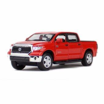 Harga 1:36 Scale Diecast Model Tundra Pickup Truck Blue Diecast Model