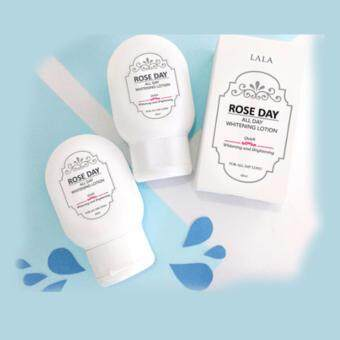 Harga Rose day all day whitening lotion quick whitening and brightening