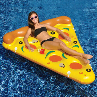 Harga Giant Inflatable Pizza Pool Float Giant Outdoor Swimming Pool