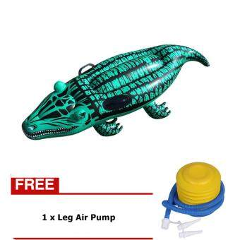 Harga Inflatable Baby Kid Crocodile Swim Ring Float Rider Swimming