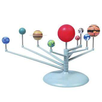 Harga 3D Solar System Planetarium Model Learning Science Kits Educational Astronomy Model DIY Toy Gift