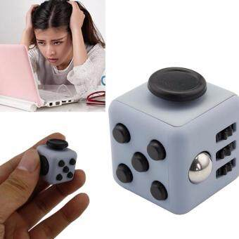 Harga Hot Mini Fidget Cube Toy Stress Reliever Toy 2.2cm 11 Colours Fingertip Toys