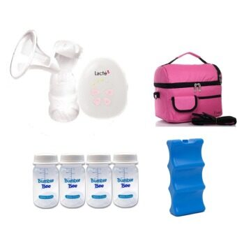 Harga Lacte Solo Electric Breastpump Package