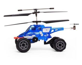 Harga Hot Selling Remote Control Flying Helicopter Car (Blue)