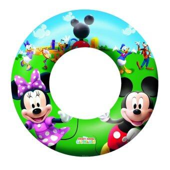 Harga Bestway Mickey Mouse Clubhouse 56cm Swim Ring Pool Paddling Toy Safety Valve