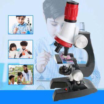 Harga Advance Technologies Kids Educational 100-1200X Microscope Kit Science Toy