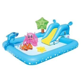 Harga Bestway Inflatable Fantastic Aquarium Spray Pool