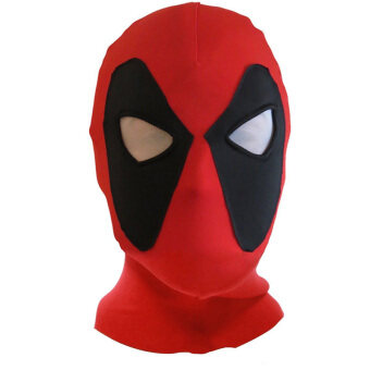 Harga Deadpool Mask X-Men Mask Halloween Costume Hood Cosplay Headwear Full Face Mask