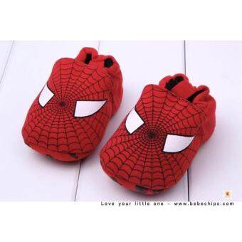 Harga Spiderman Soft Bottom Baby Shoes Baby Booties