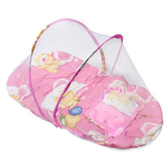 Harga New Portable Foldable Baby Mosquito Tent Travel Infant Bed Net Instant Crib