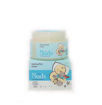 Harga Buds Soothing Organics Calming Rub Cream 30ml