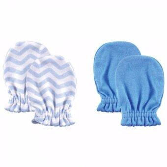 Harga Luvable Friends - Scratch Mittens 2pk (Blue) *03293*