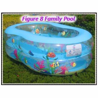 Harga Figure 8 Shape Kids Pool -Pink
