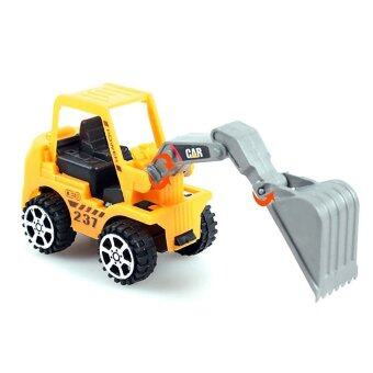 Harga Vanker Kids Children Yellow Construction Forklift Truck Car Models Play Game Gift Toys
