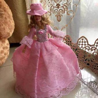 Harga Pink Gorgeous Party Dress Princess Gown for Barbie Doll