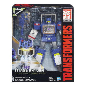 Harga Hasbro Transformers Titans Return Leader Class - Soundwave and Soundblaster