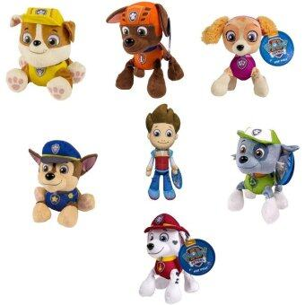 Harga PAW PATROL PLUSH PUP PALS , COMPLETE SET OF ALL 7 - RYDER ZUMA SKYE RUBBLE ROCKY MARSHALL CHASE