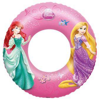 "Harga Bestway Disney Princess Pink linflatable Swim Ring 56cm 22"" BEACH SUMMER FUN pool"