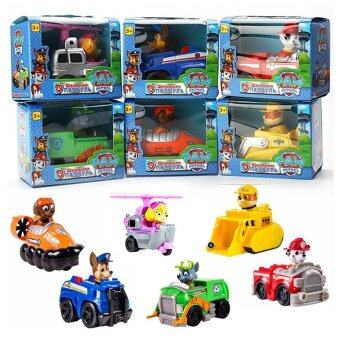 Harga Paw Patrol Racers Bundle of 6 Vehicles Chase Marshall Rubble Rocky Zuma and Skye