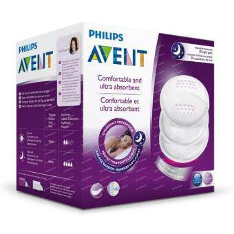 Harga Philips Avent Disposable Breast Pads Night 20's SCF253/20