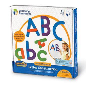 Harga LEARNING RESOURCES Giant Magnetic Letter Construction