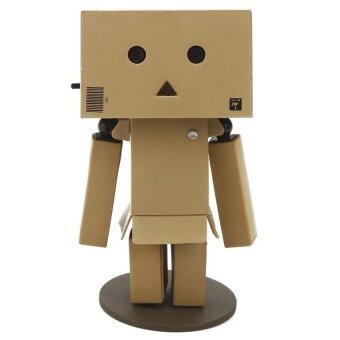 Harga Black Shop International Led Light Toy Box Figure Danboard (Brown)
